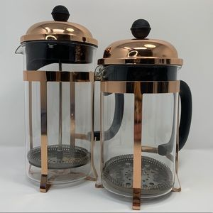 Set of 2 French Coffee Press